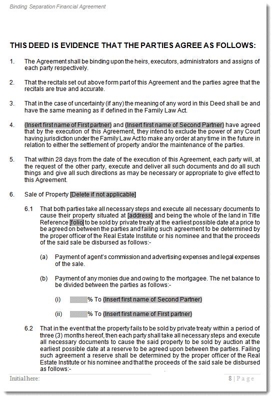 Beautiful Should I Sign A Separation Agreement? | U2026