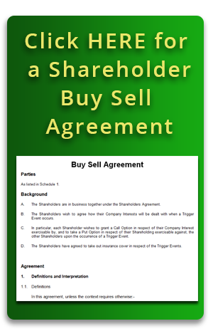 Get Shareholders Buy Sell Agreement