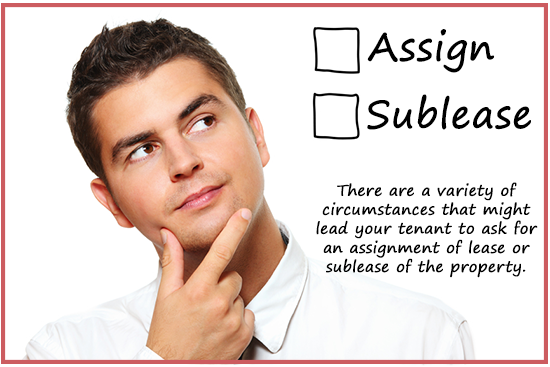 Landlords Guide Assign or sublease commercial