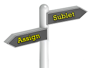 assign or sublet