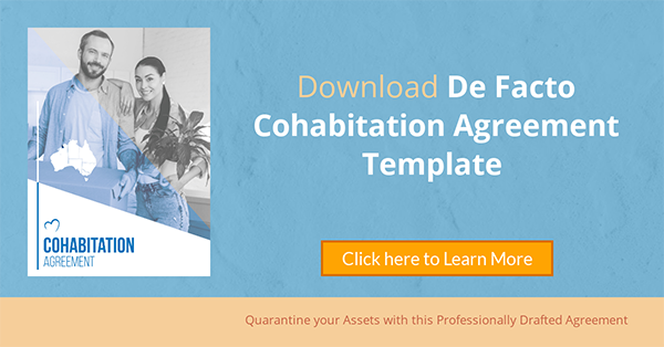 Cohabitation Financial agreement
