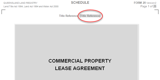 Commercial Lease Snippet