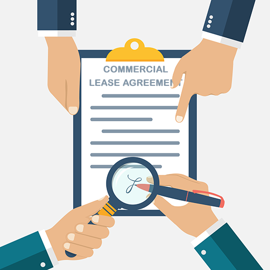 Commercial lease is a written agreement