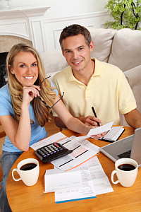 Talk to partner about financial agreement