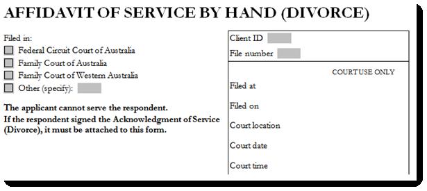 To fill out an affidavit divorce affidavit solutioingenieria Images