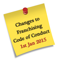 Franchising Code Changes