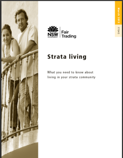 Click to download the Strata living Guide NSW
