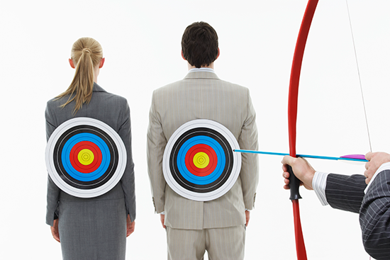 identify and reach target when selling business