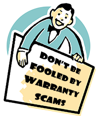 Don't be foooled by Warranty Scams