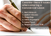 6 key issues commercial lease