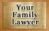 family lawyer sign