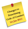 Changes to Franchising Code of Conduct
