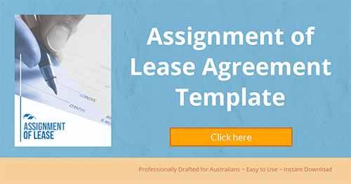 Assignement of Lease Template Banner