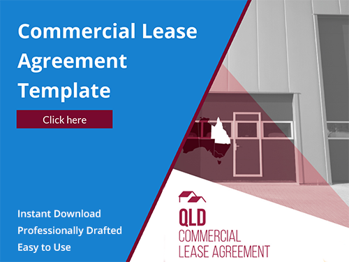 Download Commercial Lease Template for QLD