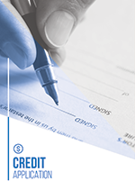 Credit Application Template COver