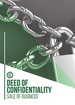 Deed of COnfidentiality Sale of Business