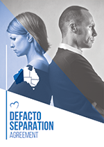 defacto separation agreement template