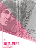 Instalment Agreement Template Cover