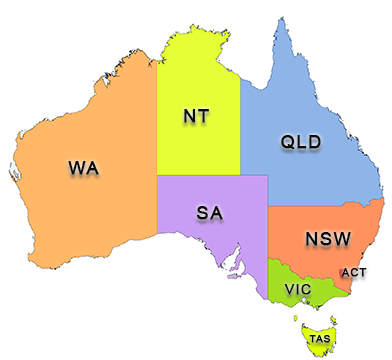 Commercial property lease agreement template map of australia pronofoot35fo Image collections