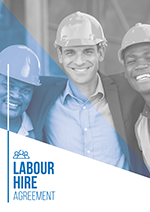Labour Hire Agreement Template Cover